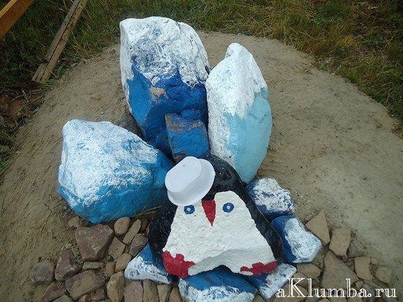 Цветные камни как правильно покрасить булыжник