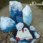 Цветные камни — как правильно покрасить булыжник