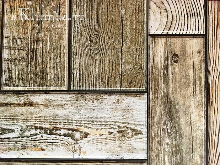 Деревянные садовые дорожки из плит